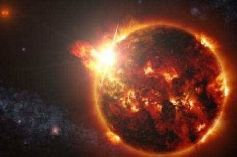 """""""200 milyon derecelik"""" yıldız patlaması!"""