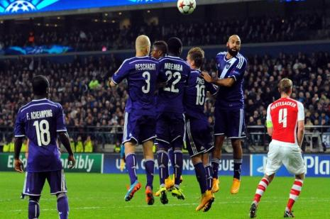 Anderlecht şaşırttı