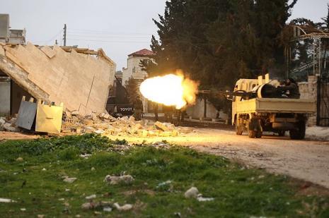Halep düşmemek için direniyor