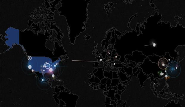 1. Dünya Siber Savaşında ABD'ye 6 binden fazla saldırı