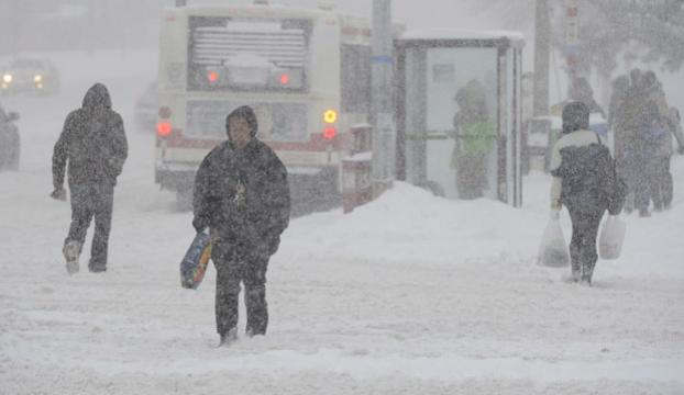 ABDde kar yüzünden 12 kişi öldü
