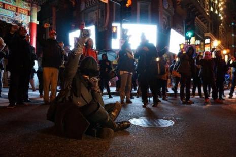 ABDde protestolar durmak bilmiyor