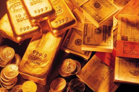 Otomobilin havalandırmasında 9 kilogram külçe altın