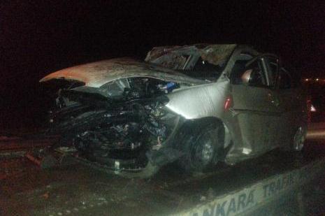 Ankarada kaza: 1 ölü, 3 yaralı