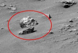 Mars'ta kafa karıştıran görüntü!...