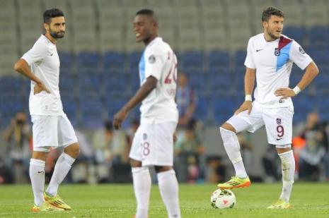 Trabzonspor, Spor Toto Süper Lig'de ise durdu