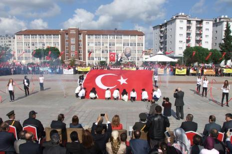 Bafrada Cumhuriyet Bayramı kutlamaları
