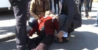 Barzani'yi Davutoğlu sanınca ortalık karıştı