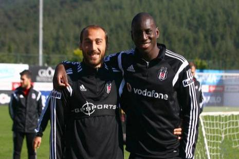 Beşiktaş son antrenmanını yaptı