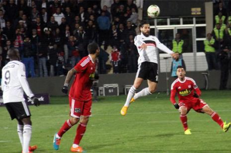 Beşiktaşta Demba Ba farkı