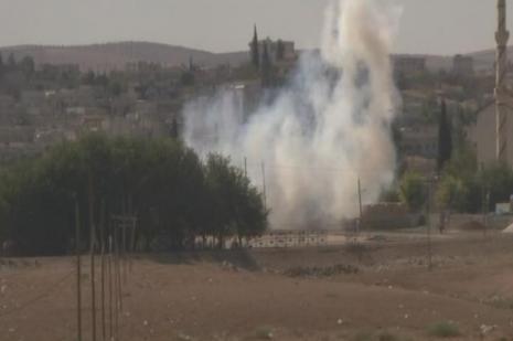 Mürşitpinar Sınır Kapısında çatışmalar sürüyor