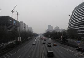 Çin'de hava kirliliği alarmı