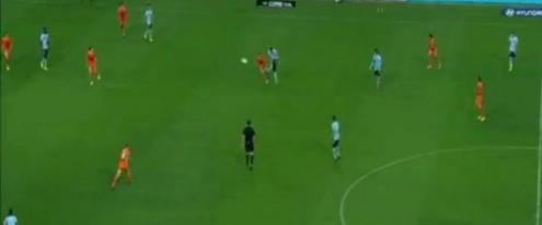 Marc Janko öyle bir gol attı ki...
