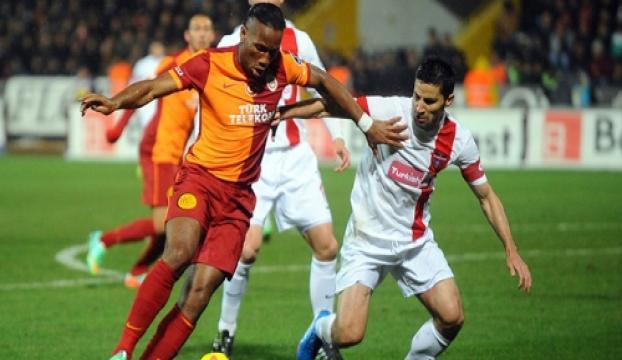 Galatasaray ile Gaziantepspor 57. randevuda