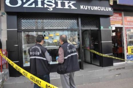 Bursada silahlı soygun dehşeti