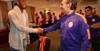 Drogba, Galatasaray kampında