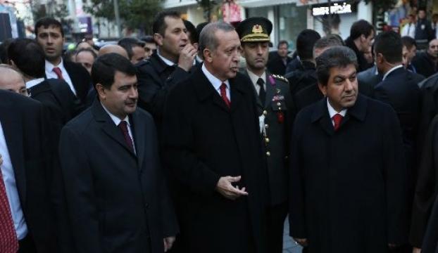 Erdoğan kafedekileri o halde görünce kızdı
