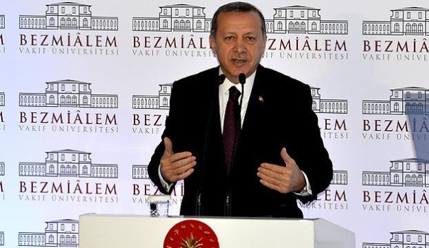 """Erdoğan: """"Biz hür ve bağımsız bir ülkeyiz"""""""