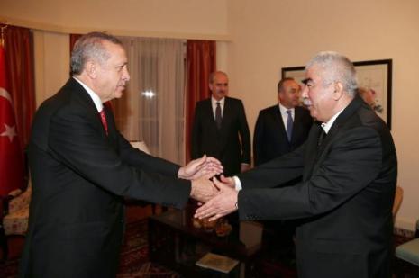 Erdoğan, Gül ile görüştü