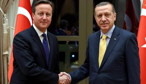 Erdoğan Cameronu kabul etti