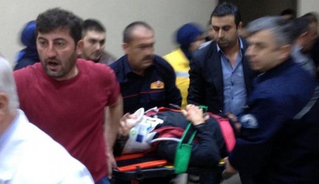 Asansör kazasında yedi öğrenci yaralandı