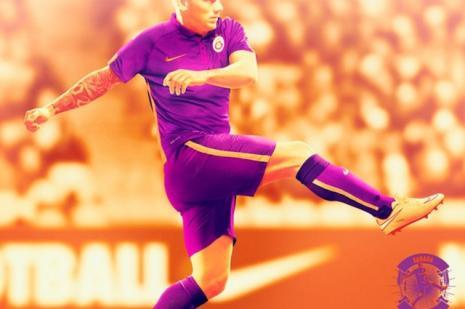 Galatasaray, mor formasını resmen tanıttı