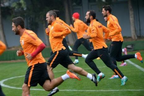 Galatasaray'da Anderlecht maçı hazırlıkları
