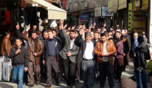 Gaziantepte Mescid-i Aksa protestosu!