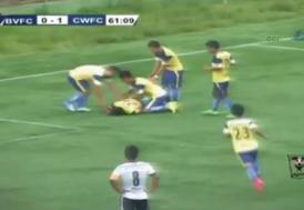 Peter Biaksangzuala attığı golün ardından hayatını kaybetti