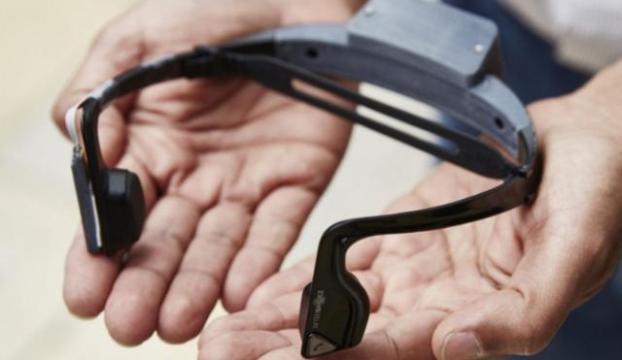 Görme engelliler için özel kulaklık!