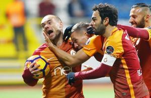 Galatasaray, haftayı 3 puanla kapattı
