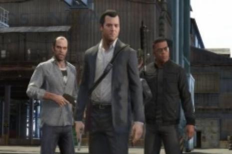 GTA 5 kuyruğunda soygun!
