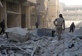 Halep'e sivillere yönelik bir katliam daha