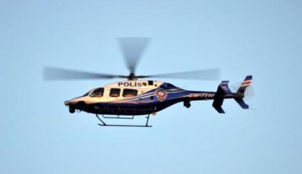 Helikopter destekli şafak operasyonu