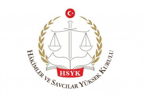 HSYK üyesi için adliyede uğurlama töreni