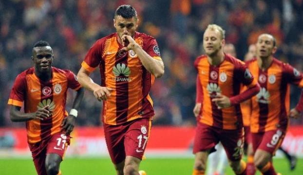 İlk yarıda Galatasaray ablukası