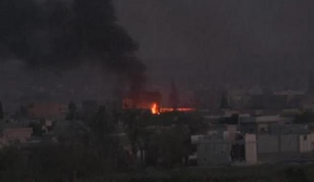 IŞİD mevzileri bombalandı!