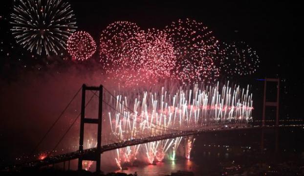 İstanbuldaki havai fişek gösterisi iptal