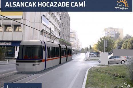 İzmirde Konak Tramvayı projesi 26 Şubatta ihale edilecek