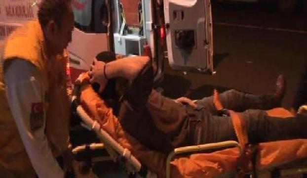 Kartalda silahlı saldırı:2 yaralı