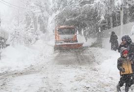 Doğu Karadeniz için yoğun kar uyarısı