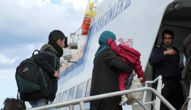Mülteciler Türkiyeye gönderildi