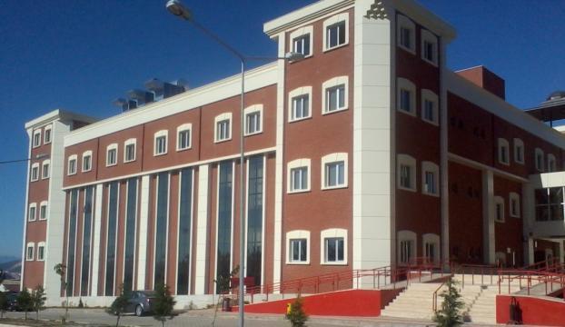 Bilecik Şeyh Edebali Üniversitesinde yangın