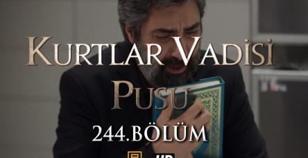 Kurtlar Vadisi Pusu 244.Bölüm HD