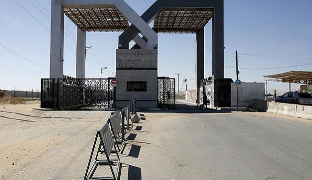 """Refah Sınır Kapısı """"çift yönlü"""" açıldı"""