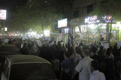 Mısırda darbe karşıtlarına müdahale