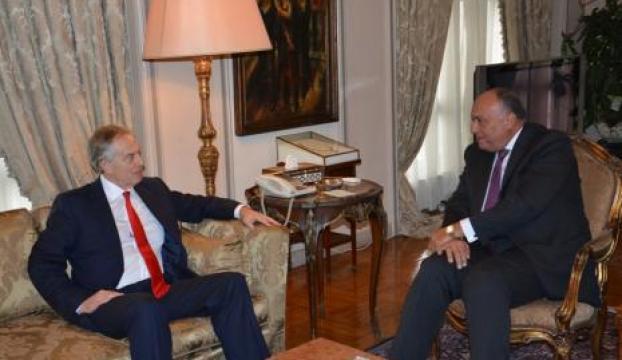 Mısır Dışişleri Bakanı ile Tony Blair, Filistin-İsrail konusunda görüştü