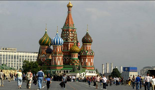 Moskovada Türklere gasp!