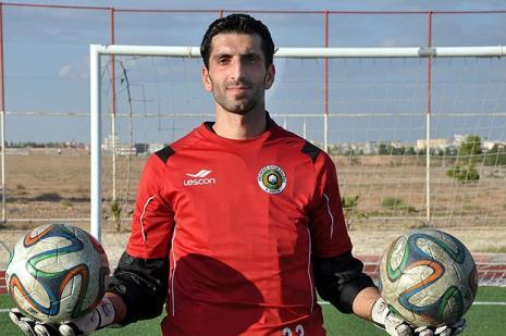 Suriyeli milli kaleci Türkiye'de amatör ligde