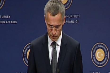 NATO Genel Sekreteri ve Çavuşoğlu açıklama yaptı